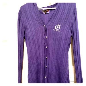 Guess Sweater-Purple